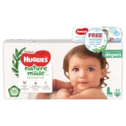 Platinum Nature Made Diapers L 54s Bundle With Wipes Promo Pack