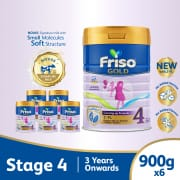 Gold 2FL Growing Up Stage 4 Carton 6s X 900g