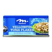 Yellow Flakes in Spring Water 185g