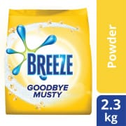 BREEZE Laundry Powder Detergent Goodbye Musty (Indoor Drying) 2.3kg