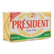 President Salted Butter Block