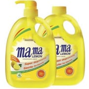 MAMA LEMON Dishwashing Liquid Lemon Gold +Refill 1L