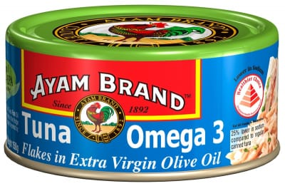 Tuna Flakes Omega 3 In E/Virgin Olive Oil 150g