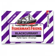 Sugar Free Blackcurrant Lozenges 25g