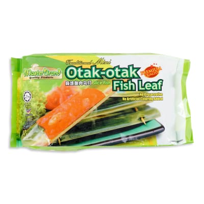 Mini Otak Otak Fish Leaf 12s