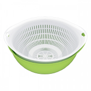 CITYLIFE Colander Round Container O7023