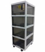 CITYLIFE 4 Tier Cabinet W/Wheels G-5021