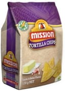 MISSION Tortilla Chips Garlic & Butter 170g