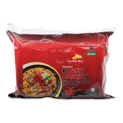 Instant Pancit Canton Extra Hot 6sX60g