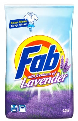 FAB Laundry Powder Freshness of Lavender 2.1kg