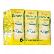 Banana Milk Drink 6sX200ml