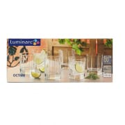 Octime Old Fashioned Glass 6X30ml D6238