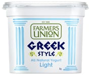 FARMERS UNION Greek Style Yogurt Light 1kg