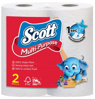 Multi-Purpose Kitchen Paper Towel 2s
