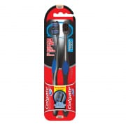 360 Charcoal Toothbrush - Ultra Soft 2s