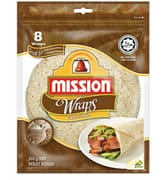Wraps - Wholegrain 8s