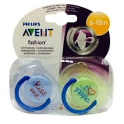 Silicone Soothers 6-18M