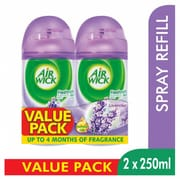 Automatic Spray Air Freshener Refill - Lavender 2sX250ml