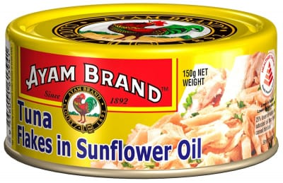 Tuna Flakes In Sunflower Oil 150g