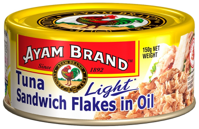 Tuna Sandwich Flakes In Oil Light 150g