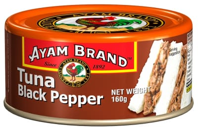 AYAM BRAND Tuna With Black Pepper 160g