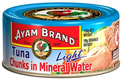 Tuna Chunks In Mineral Water Light 150g