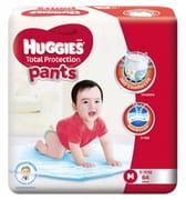Total Protection Pants Diapers 64s M 6-12kg