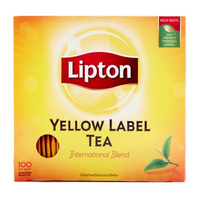 Yellow Label Tea Individually Pack 100sX2g