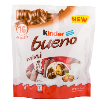 Bueno Mini Chocolates T16 86.4g