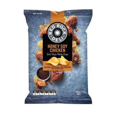 Potato Chips - Honey Soy Chicken 165g
