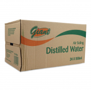 Distilled Drinking Water 24sX550ml