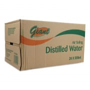 GIANT Distilled Drinking Water 24sX550ml