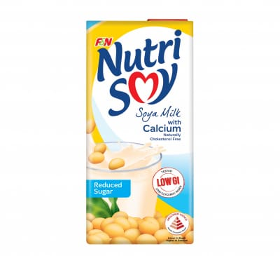 Soya Milk With Calcium And Reduced Sugar 1L
