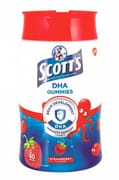 Scott's DHA Chewable Children Gummies, Fish Oil Omega 3, Strawberry 60s