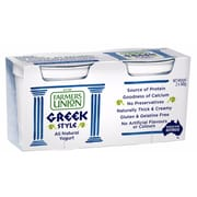 FARMERS UNION Greek Natural Yogurt 2sX140g