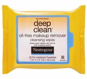 NEUTROGENA deep clean® oil free makeup remover cleansing wipes