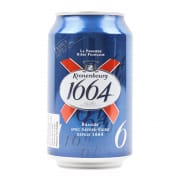 KRONENBOURG BEER CAN 1664 1S