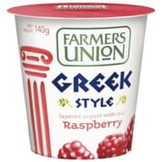 Greek Raspberry Yoghurt 140g