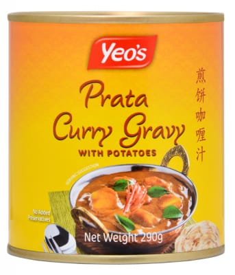 Prata Curry Gravy W/ Potatoes 290g
