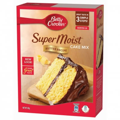 Super Moist Cake Mix - Butter Recipe 430g