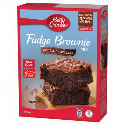 Fudge Brownie Mix - Double Chocolate 430g