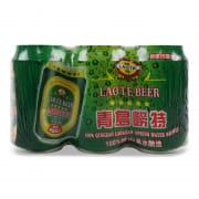 Premium Qingdao Beer Can 6sX330ml