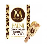 Mini Chocolate Cookie Crumble 6sX60ml