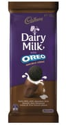 Dairy Milk Chocolate W/ Oreo Double Choc 180g
