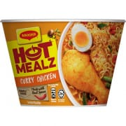 Hot Mealz Bowl Noodles - Curry Chicken 99g