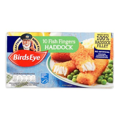 BIRDS EYE Fish Fingers Haddock 10s 280g