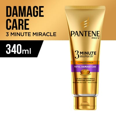 3 Minute Miracle Total Damage Care Conditioner 340ml