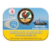 Brisling Sardines In Sunflower Oil 105g