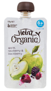 Organic Apple Raspberry & Blackberry 120g