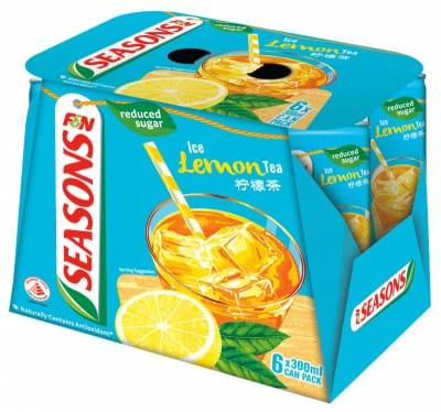 Ice Lemon Tea With Reduced Sugar 6sX300ml
